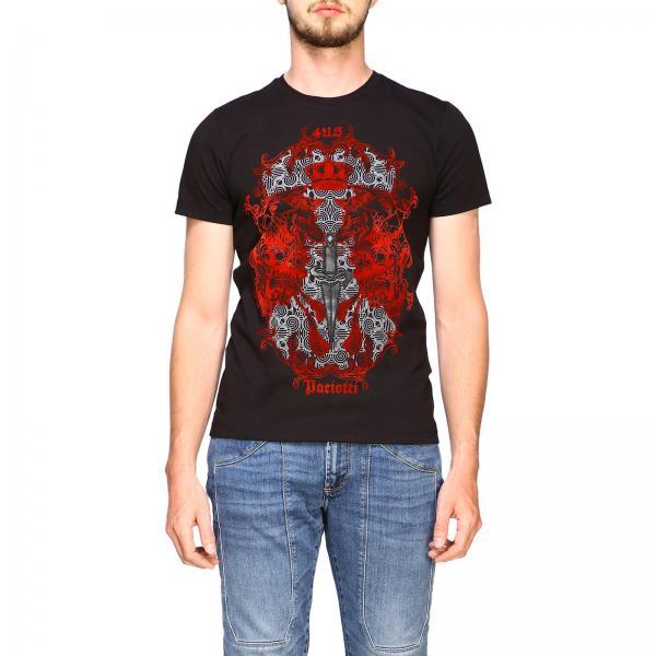 Paciotti 4US T-Shirt mit Drachen Aufdruck und Logo