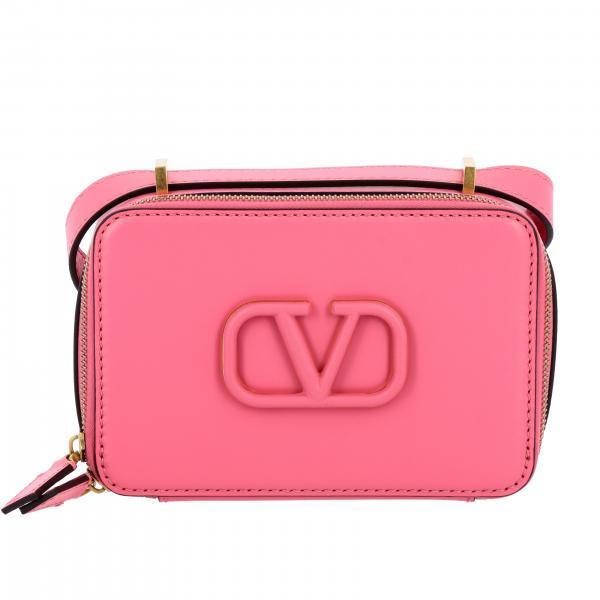 Borsa camera bag VLogo Valentino Garavani in pelle