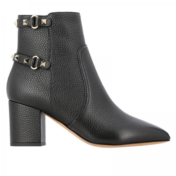 Valentino Garavani Rockstud boots with studs and buckles