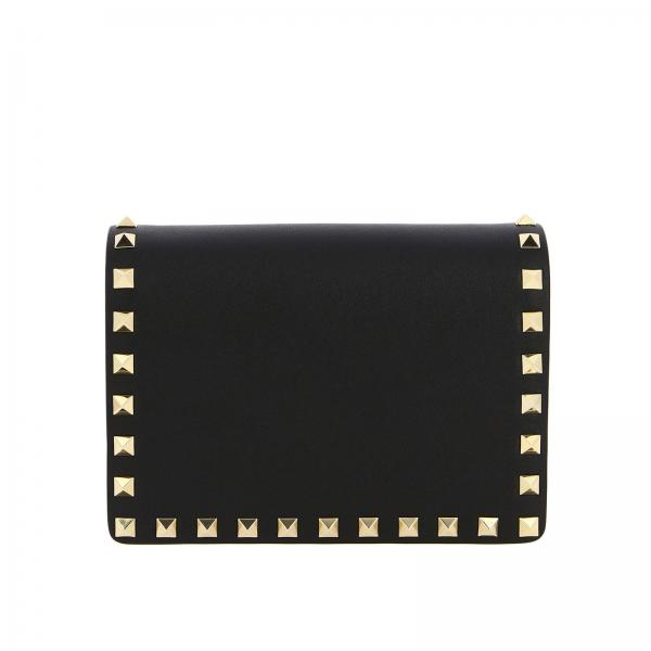 Valentino Garavani Rockstud Spikes leather bag with studs