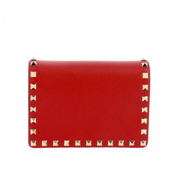 Valentino Garavani Rockstud Spikes bag in leather with studs