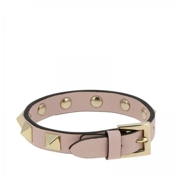 Valentino Garavani Rockstud bracelet in leather