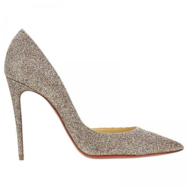 Туфли-лодочки Iriza Christian Louboutin из кожи с блестками