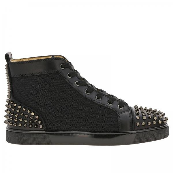 innovative design d9078 beb2a Ac lou spikes christian louboutin sneakers in mesh and leather
