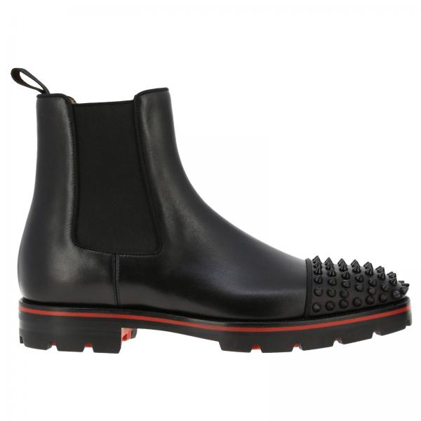 Stivaletto Melon Spikes Christian Louboutin in pelle
