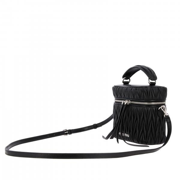 Pelle 5bh122ooo Donna Borsa N88 In Mini Bag MiuCamera Ovale Matelassé tshCxdQrB