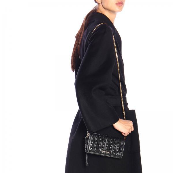 Donna Borsa MiuA Pelle Logo 5dh029 N88 Tracolla Con Mini Matelassé In Vera xdCBWoer