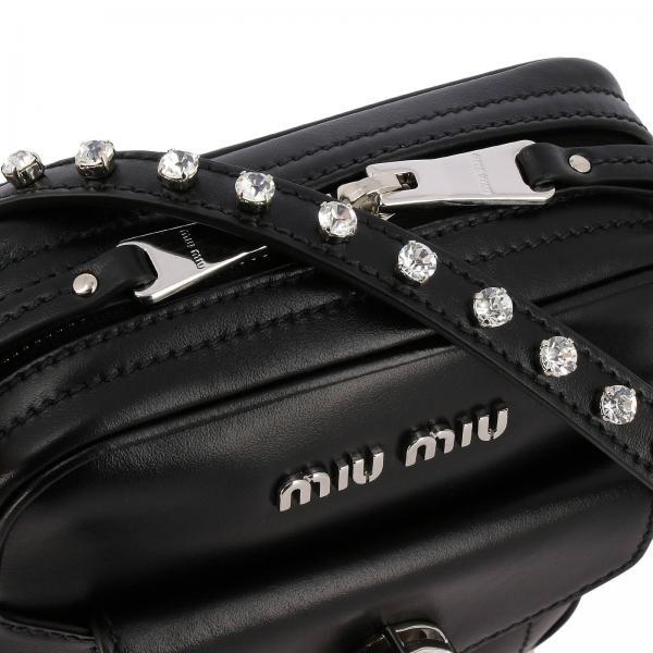 Con Mini Borsa Donna MiuIn Maxi 5bh155ogo Pelle Strass 2d3v nm8v0wyNO