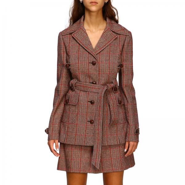Miu Miu wool jacket with belt