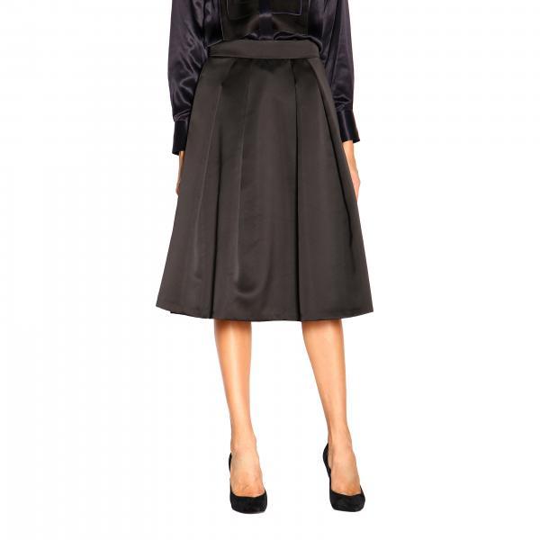 Falda ancha de Giorgio Armani con bolsillos