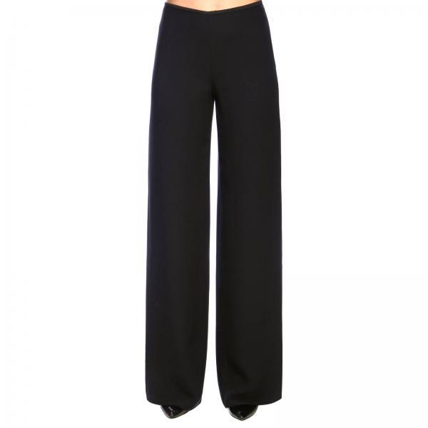 Pantalon Giorgio Armani classique en crêpe large
