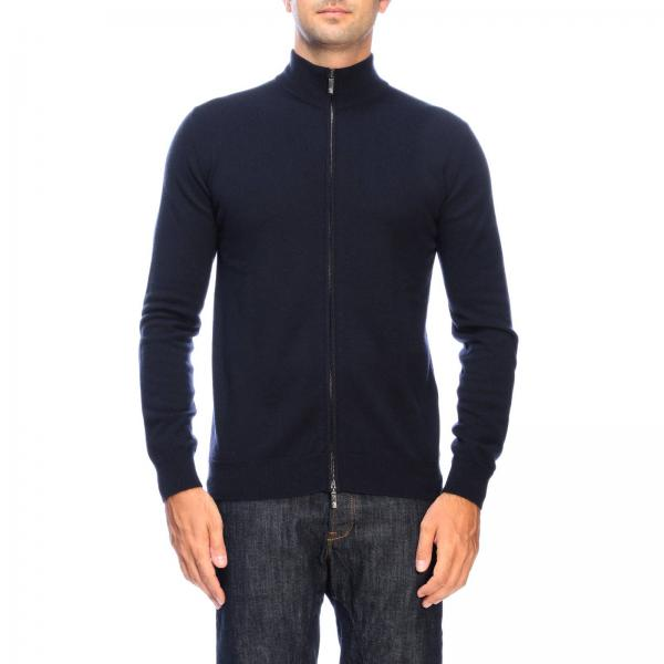 Giorgio Armani basic cashmere cardigan with zip