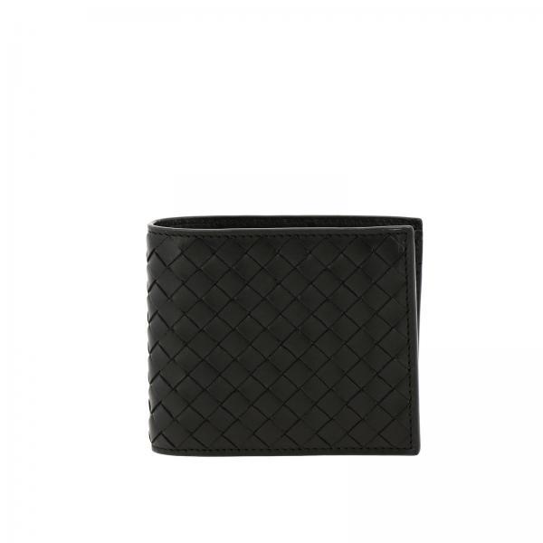 Bottega Veneta Classic woven leather wallet