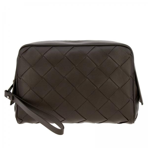 Bottega Veneta Beauty Case in maxi woven leather