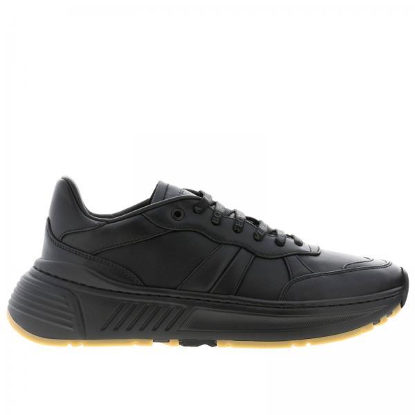 Bottega Veneta Sneakers aus Leder mit Schnürung
