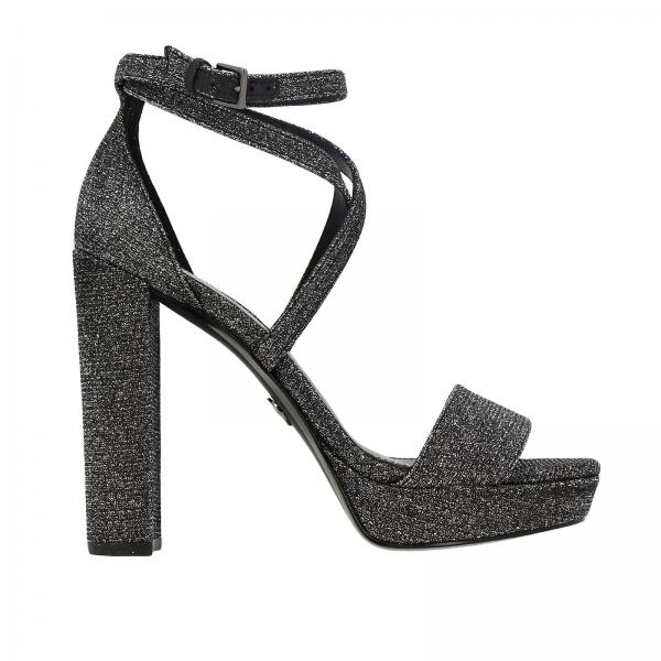 Charlize platform Michael Michael Kors sandals in glitter fabric