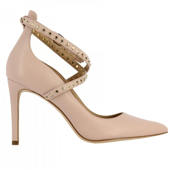 Jeannie Michael Michael Kors pumps in leather with studded strap