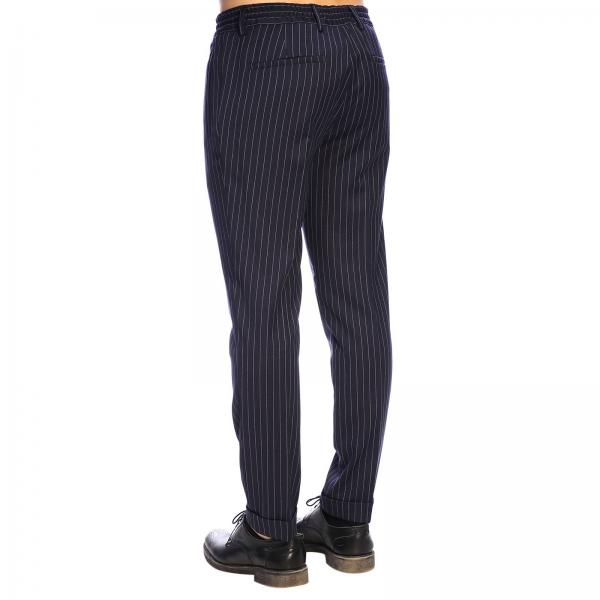 Pecora B014 Gessato 3130 Pantalone Uomo BlueJogging Paolo Lana PX8OknwN0Z