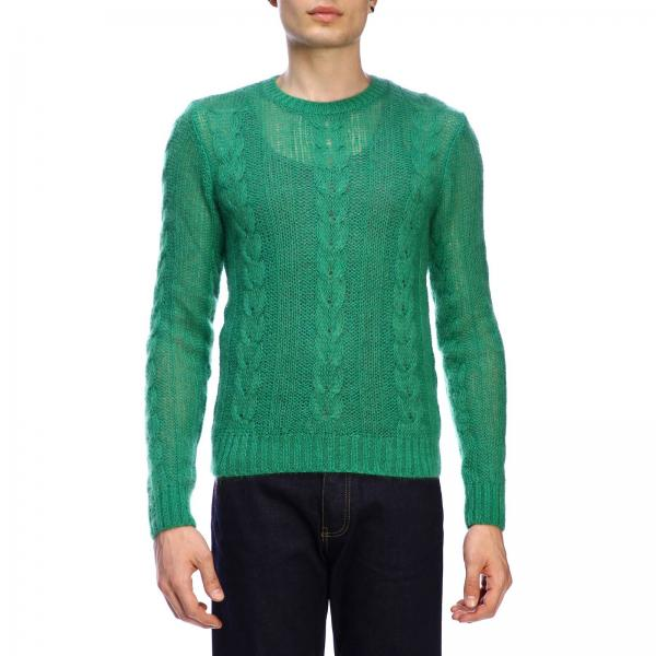 Pullover N° 21 basic in mohair a trecce