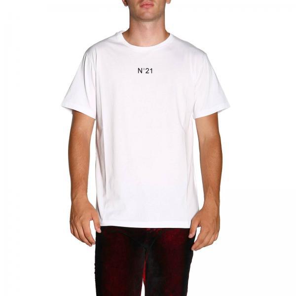 T-shirt N° 21 a maniche corte con logo