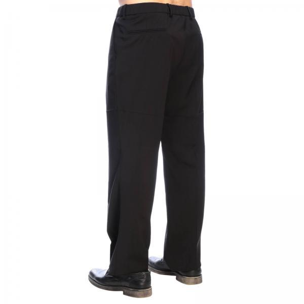 Pantalone Con America Pieghe Uomo B091 Light 3133 N° 21 NeroTasche Lana 8NymPn0vwO