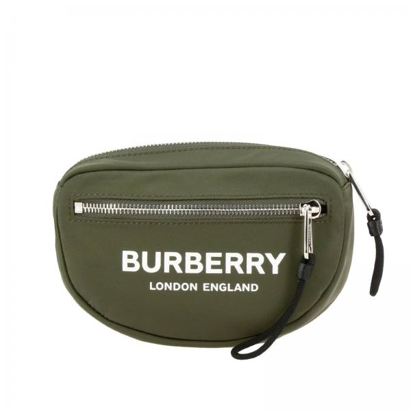 Burberry pouch in nylon with logo print