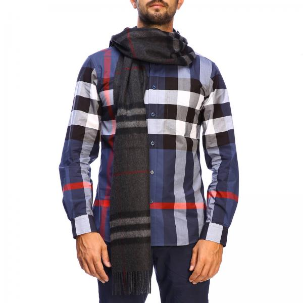 Burberry Giant check scarf in cashmere