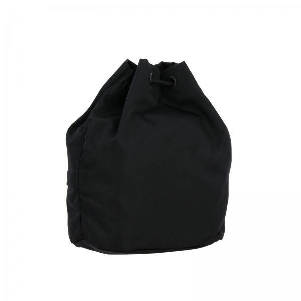 Zip NeroBorsa Logo Phoebe Stampa E Burberry Nylon In Borse A Secchiello Donna Con Tracolla 8015045 PkiwOZXuT