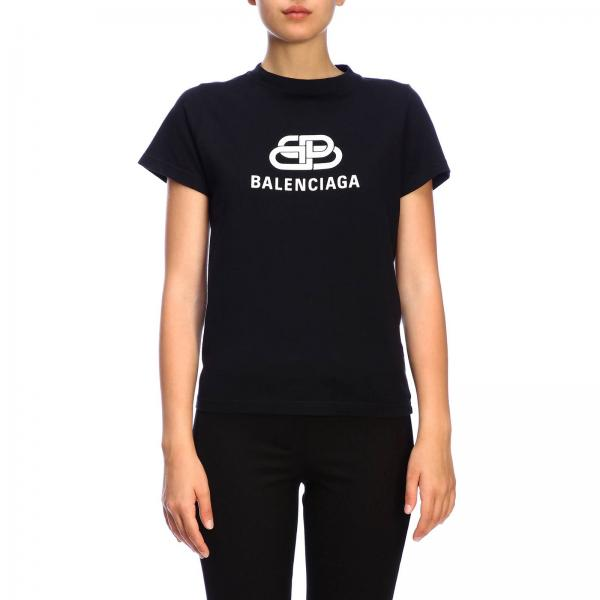 Balenciaga slim-fit stretch cotton jersey T-shirt with maxi logo