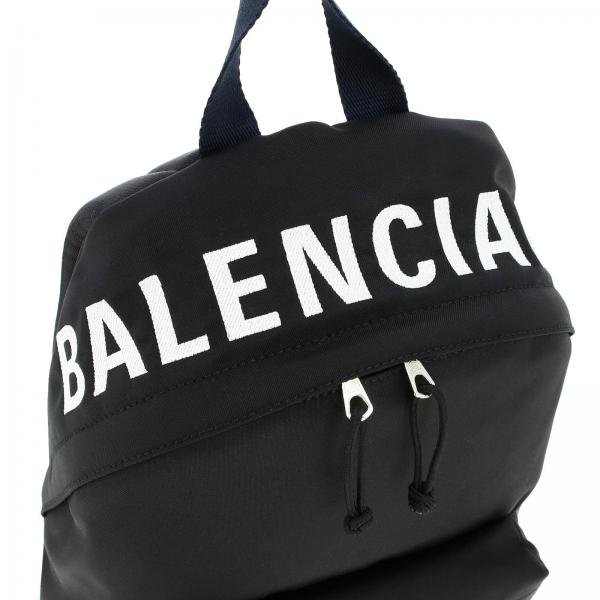 Zaino Donna In Con BalenciagaWheel 565798 Nylon Logo Hpg1x vmNO0wPy8n