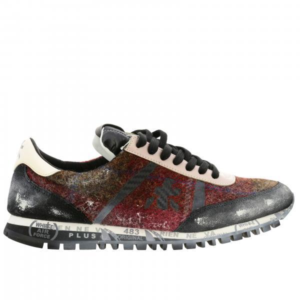 Premiata Wolle Sneakers Karierte Aus Check 2H9IWED
