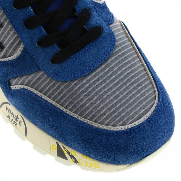 Stampe Multi In Over Uomo PremiataMick Pelle Sneakers Nylon E All Camoscio Con Suola LSUGqMVzp