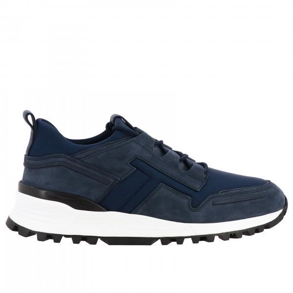 Tod's 纳帕革氯丁橡胶运动鞋