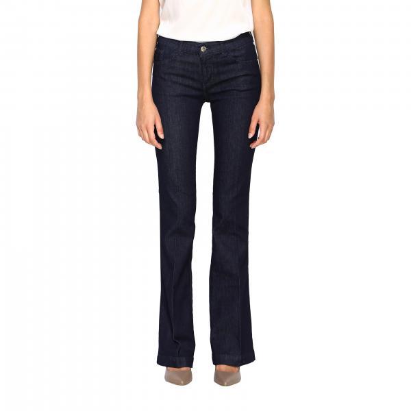 Emporio Armani flared stretch denim jeans