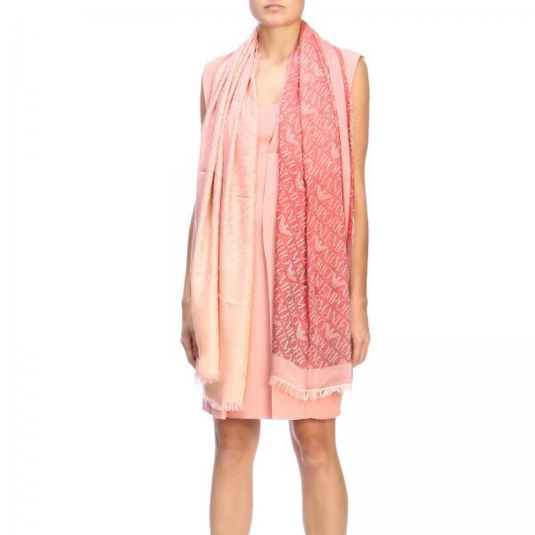 Emporio Armani scarf with jacquard logo