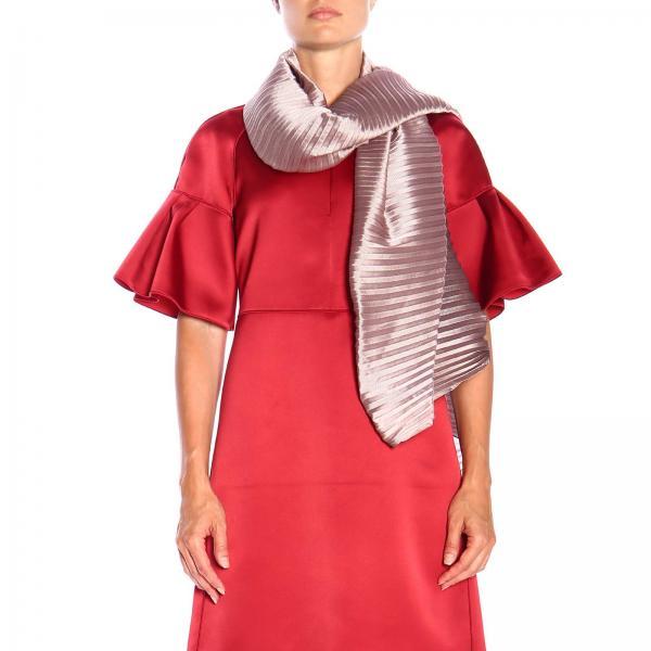 Foulard Emporio Armani en tissu plissé