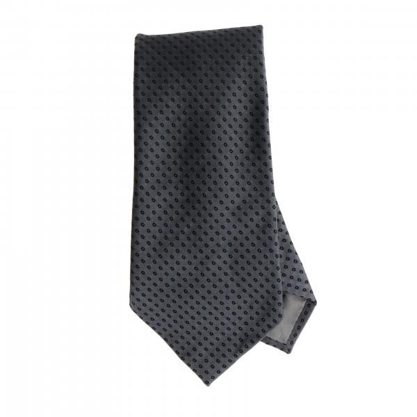 Emporio Armani 7.5 cm tie in micro printed silk