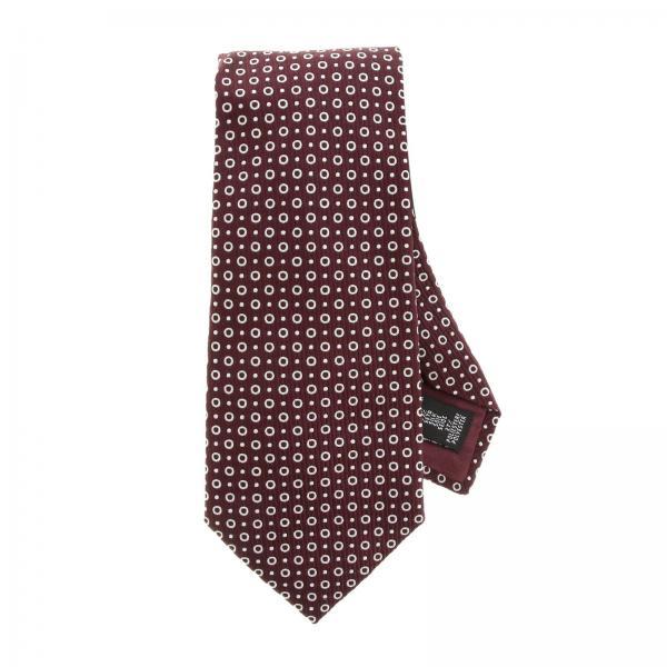 Emporio Armani corbata de seda con estampado de 7,5 cm