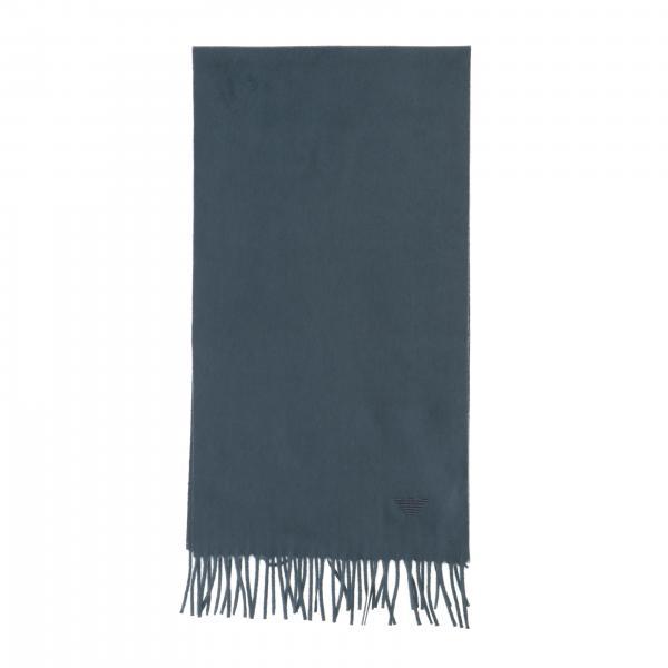 Écharpe Emporio Armani en laine à franges