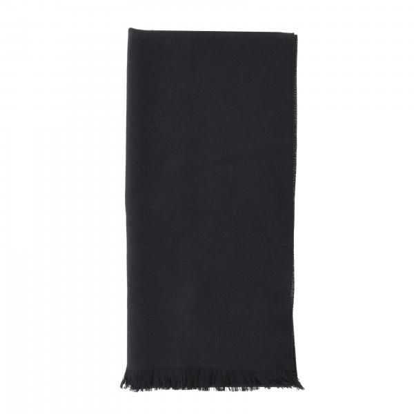 Emporio Armani scarf in basic wool with logo