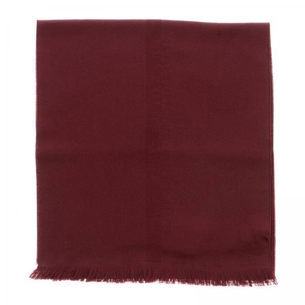 Emporio Armani wool scarf with logo