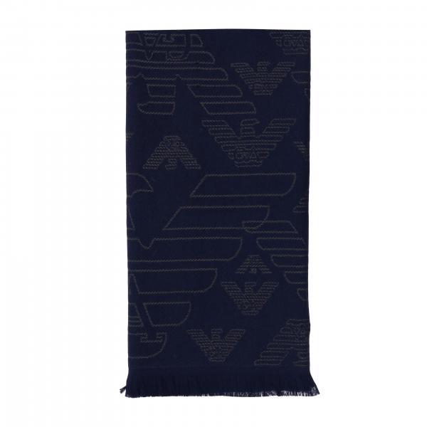 Écharpe Emporio Armani en laine avec logo