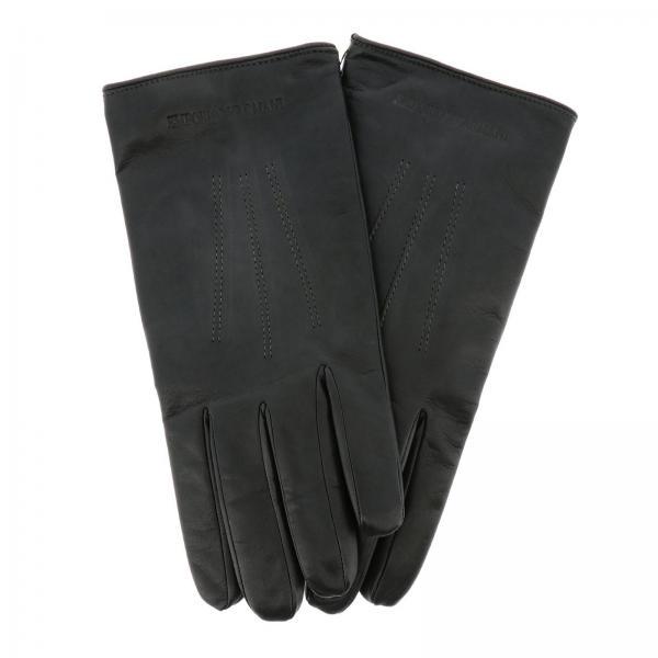 Emporio Armani gloves in leather