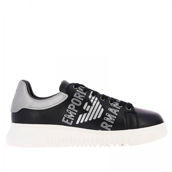 Chaussures Chaussures Emporio Emporio Baskets Armani Armani Baskets Homme Homme BWQorCedx