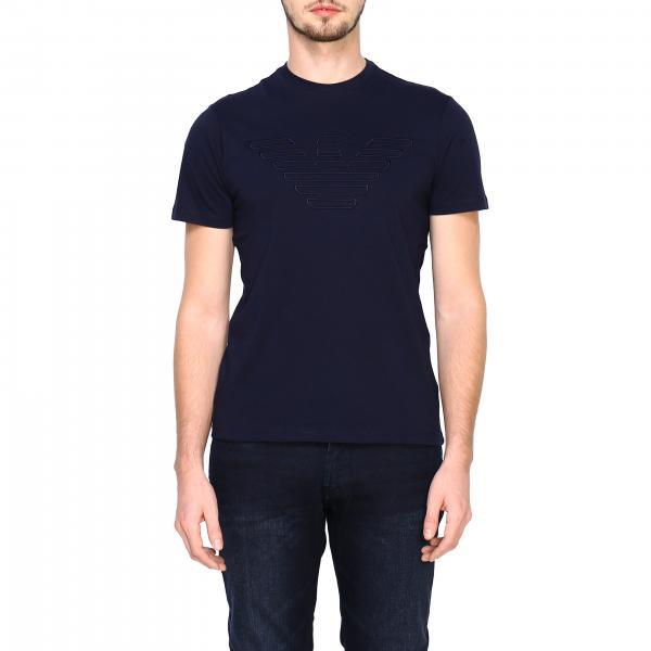 T-shirt  Emporio Armani à manches courtes avec grand aigle
