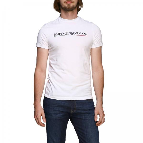 Emporio Armani T-Shirt mit Maxi-Print