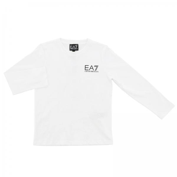 T-shirt EA7 a maniche lunghe con logo