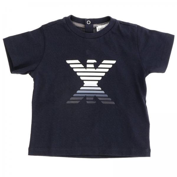 T-shirt Emporio Armani à manches courtes avec logo double aigle