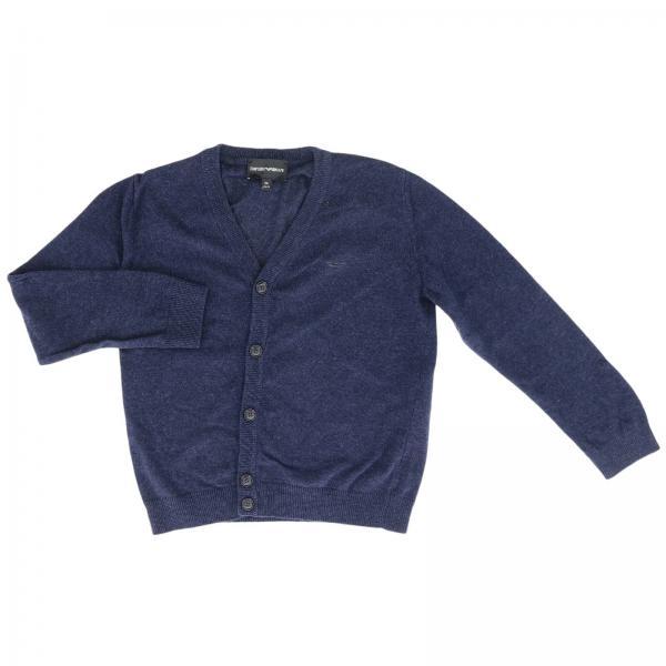 Emporio Armani cardigan in basic wool