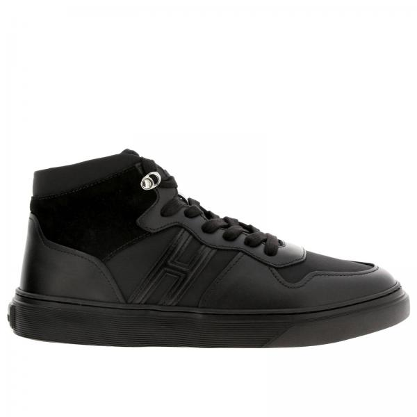 365 leather and suede Sneakers Hogan Basket